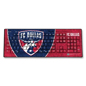 FC Dallas Wireless Keyboard