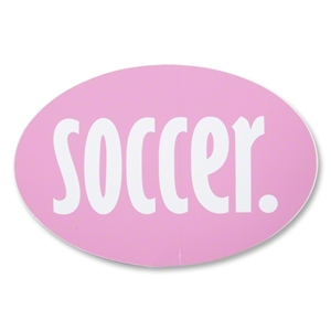 Soccer Pink Decal