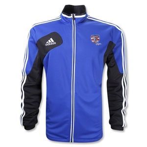 adidas USA Sevens Condivo 12 Training Jacket (Royal/Black)