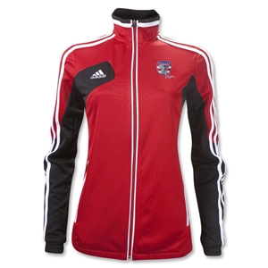 adidas USA Sevens Women's Condivo 12 Training Jacket (Red/Black)