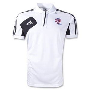 adidas USA Sevens Condivo 12 CL Polo (White/Black)