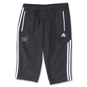 adidas World Rugby Shop Women's Condivo 12 3/4 Pant (Blk/Wht)