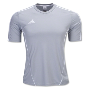 adidas Estro 12 Soccer Jersey (Sv/Wh)