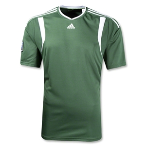adidas MLS Match Jersey (Green/White)