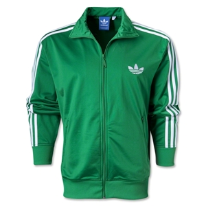 adidas Originals adi Firebird Track Top (Green/Wht)