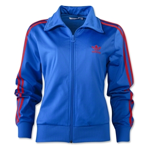 adidas Originals Women's Firebird Track Top (Blue)