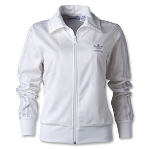 adidas Originals Women's Firebird Track Top 2012 (White/Gray)