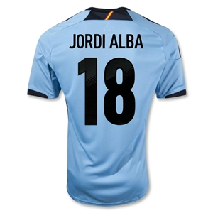 Spain 12/13 ALBA Away Soccer Jersey