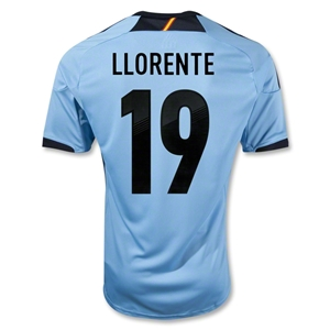 Spain 12/13 LLORENTE Away Soccer Jersey