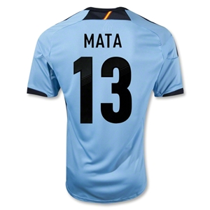 Spain 12/13 MATA Away Soccer Jersey