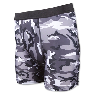 Camouflage Compression Short Underwear (Blk/Wht)