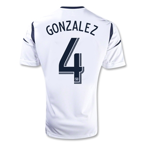 Los Angeles Galaxy 2013 GONZALEZ Home Soccer Jersey