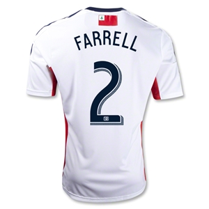New England Revolution 2013 FARRELL Secondary Soccer Jersey