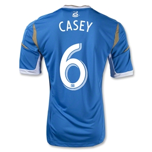 Philadelphia Union 2013 CASEY Authentic Secondary Soccer Jersey