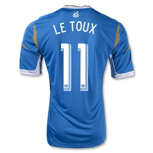 Philadelphia Union 2014 LE TOUX Authentic Secondary Soccer Jersey