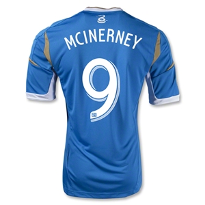 Philadelphia Union 2014 MCINERNEY Authentic Secondary Soccer Jersey