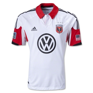DC United 2013 Authentic Secondary Soccer Jersey