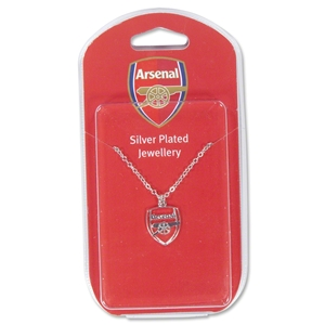 Arsenal Silver Plated Necklace