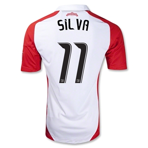 Toronto 2012 SILVA Authentic Away Soccer Jersey