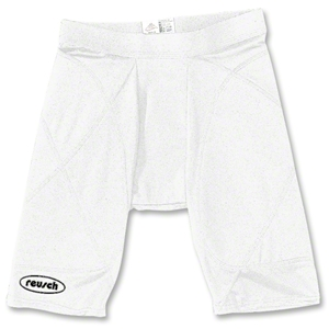 reusch Padded Compression Goalkeeper Shorts (White)