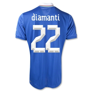 Italy 2012 DIAMANTI Home Soccer Jersey
