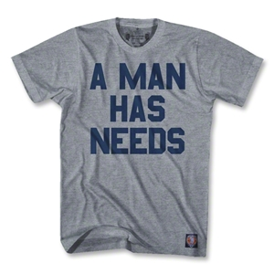 Objectivo A Man Has Needs T-Shirt (Gray)