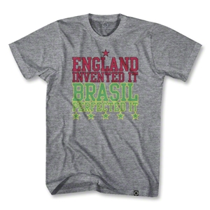 Objectivo England Invented It Brasil Perfected It T-Shirt (Gray)
