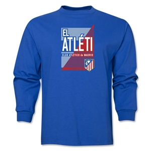 Atletico Madrid El Atleti LS T-Shirt (Royal)