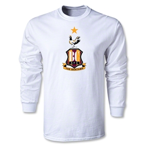 Bradford City LS Crest T-Shirt (White)