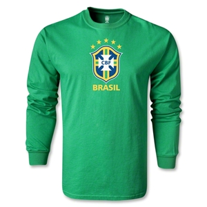 Brazil LS T-Shirt (Green)