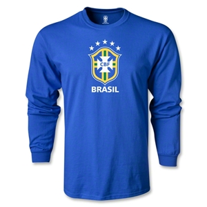 Brazil LS T-Shirt (Royal)