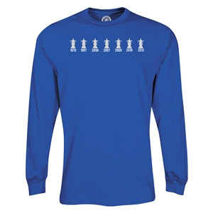 Chelsea 2012 FA Cup Trophy LS T-Shirt (Royal)