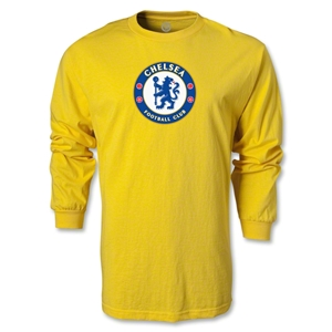 Chelsea Crest LS T-Shirt (Yellow)