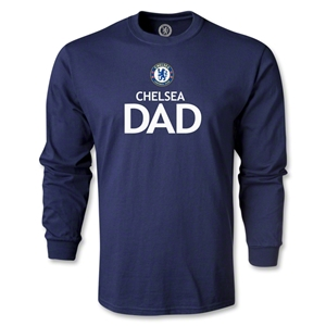 Chelsea Dad LS T-Shirt (Navy)