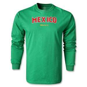 CONCACAF Gold Cup 2013 LS Mexico T-Shirt (Green)