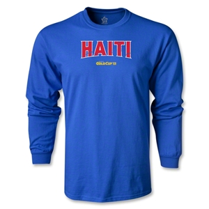CONCACAF Gold Cup 2013 LS Haiti T-Shirt (Royal)
