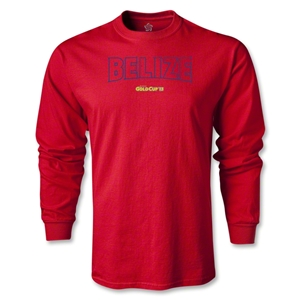 CONCACAF Gold Cup 2013 LS Belize T-Shirt (Red)
