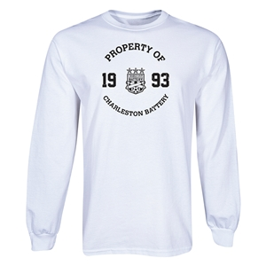 Charleston Battery Property of CB LS T-Shirt (White)