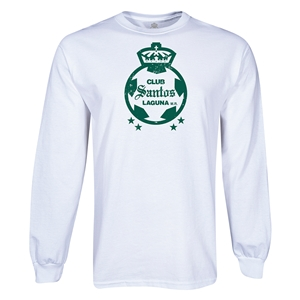 Santos Laguna Graphic LS T-Shirt (White)
