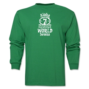 Aloha World Sevens Lone Sleeve T-Shirt (Green)