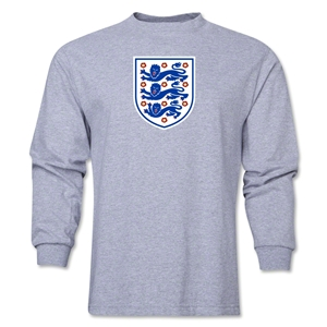 England Core LS T-Shirt (Gray)