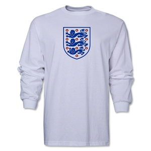 England Core LS T-Shirt (White)
