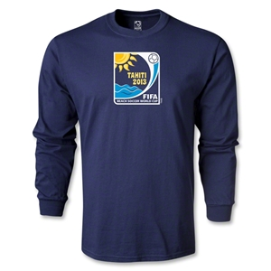 FIFA Beach World Cup 2013 LS Emblem T-Shirt (Navy)