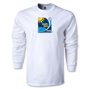 FIFA Beach World Cup 2013 LS Emblem T-Shirt (White)
