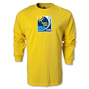 FIFA Beach World Cup 2013 LS Emblem T-Shirt (Yellow)