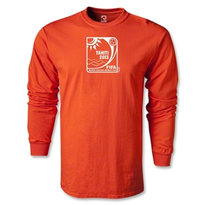 FIFA Beach World Cup 2013 LS T-Shirt (Orange)