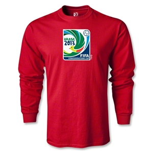FIFA Confederations Cup 2013 LS Emblem T-Shirt (Red)