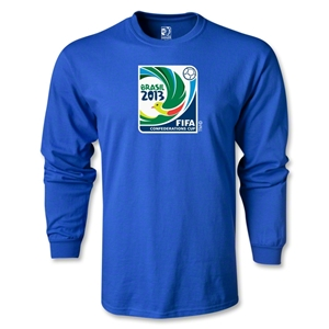 FIFA Confederations Cup 2013 LS Emblem T-Shirt (Royal)