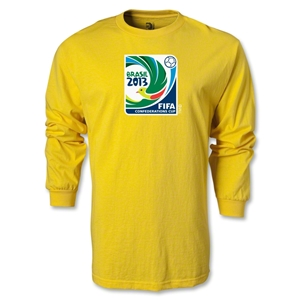 FIFA Confederations Cup 2013 LS Emblem T-Shirt (Yellow)