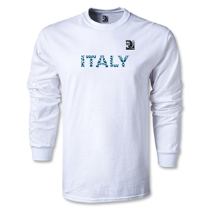 FIFA Confederations Cup 2013 Italy LS T-Shirt (White)